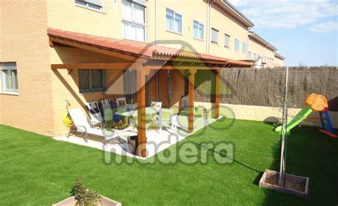 porches de madera de exterior