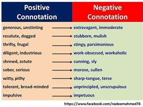 9 best images about word connotations on pinterest a