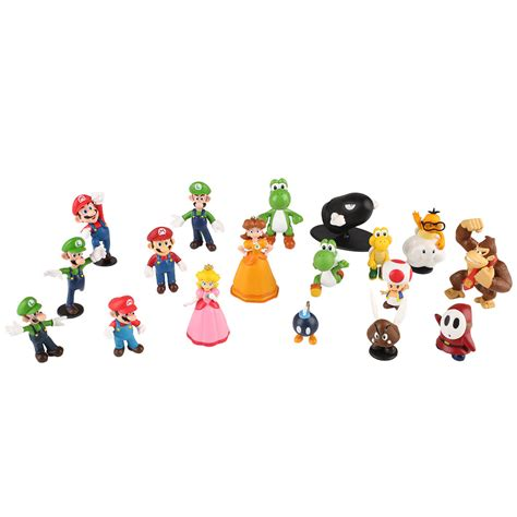 Bros Mini get cheap mario characters figures aliexpress alibaba