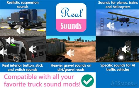 ets2 mod game fixes sound fixes pack v 14 1 ats euro truck simulator 2 mods