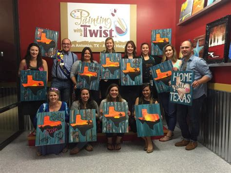 paint with a twist heights painting with a twist san antonio tx