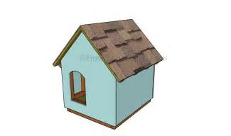 diy house plans diy dog house plans howtospecialist how to build step