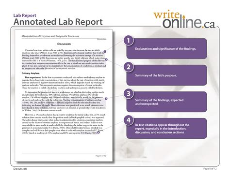 write lab report writing guide parts of a lab report