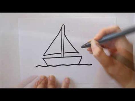 como hacer un barco dibujo facil c 243 mo dibujar un barco de vela dibuja conmigo dibujos de