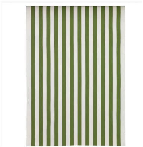 ikea fabric ikea sofia fabric material 1 5yd green white broad stripe