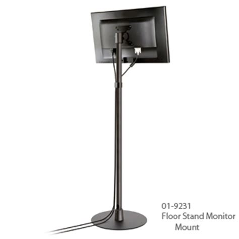 Monitor Floor Stand by Monitor Floor Stand Freestanding Monitor Floor Stand