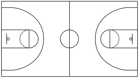diagram sketch drawing of basketball court drawing arts sketch