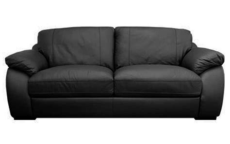 3 seater black leather sofa sale atlantis large 3 seater black leather sofa sofas