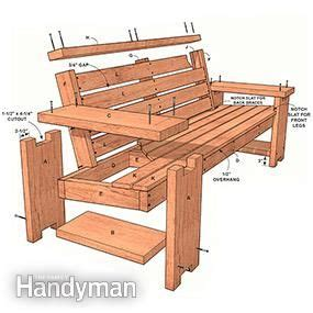 wooden patio bench 25 best ideas about wooden benches on diy