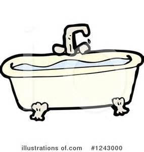Bathtub Clipart Free by Bath Tub Clipart 1243000 Illustration By Lineartestpilot