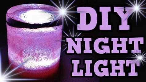 easy diy night light diy night light cute gift idea new room decor idea