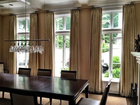 Dining Room Curtain Panels | curtains contemporary dining room other metro by