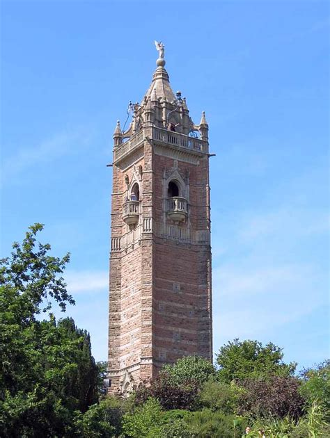 Tudor House Style cabot tower bristol 1897 98