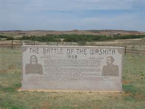 Washita battlefield is the site of a massacre of chief black kettle