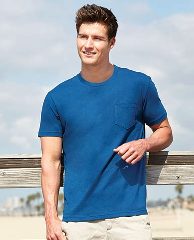 B116 Purple Sapphire tees pocket staton corporate and casual