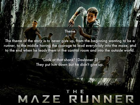 theme quotes in maze runner theme quotes from the maze runner the maze runner by carter m