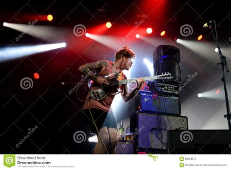 barcelona band thee oh sees band performs at primavera sound 2015