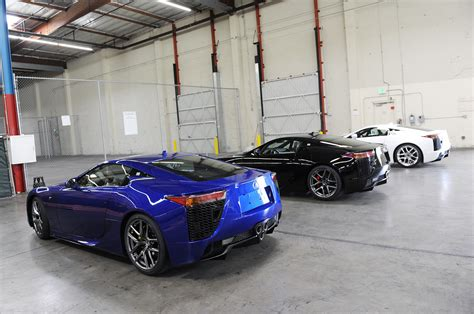 lexus dark blue pearl blue lexus lfa 018 arrives in the usa youtube