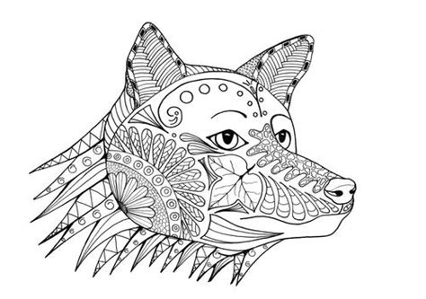 d mcdonald designs coloring book 2017 books fox a coloring page favecrafts