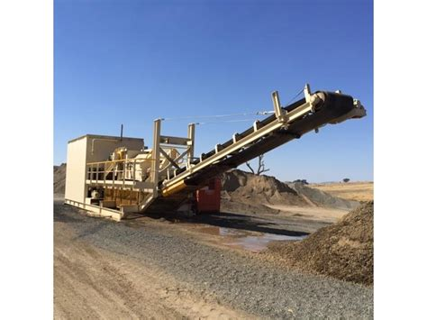 used pug mill q m e portable modular pug mill plant for sale