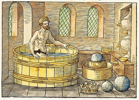 archimedes bathtub story deconstructing time