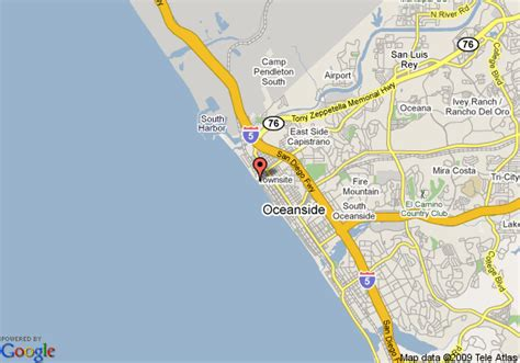 oceanside ca map map of southern california club condos oceanside