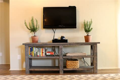 rustic console table with storage rustic console table cool rustic console table diy and