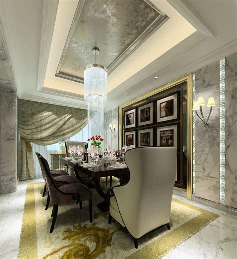 luxury dining room  model max cgtradercom