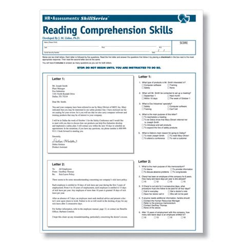 reading comprehension test adults thesis for law students