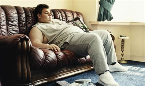 potato couching couch potato warning lifestyle could leave you unable to