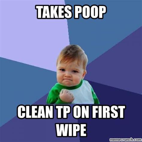 Win Kid Meme - poop win
