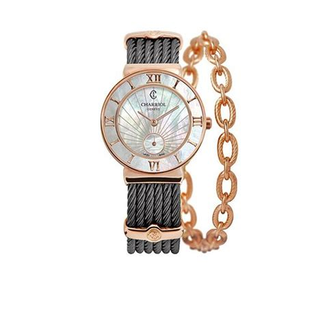 Charriol 30mm new charriol st tropez steel pink gold 30mm