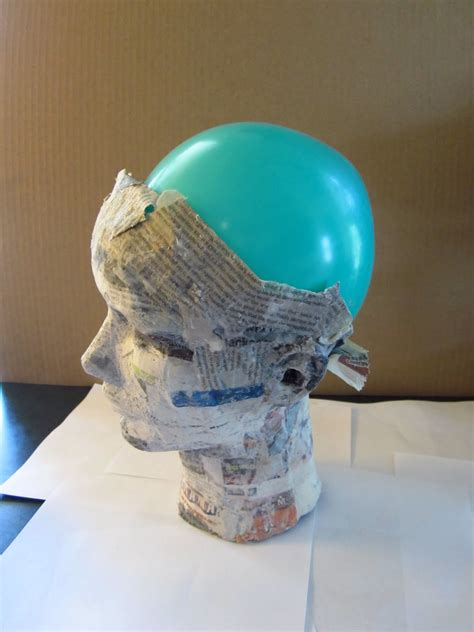 How To Make Paper Mache Heads - objectsandsubjects a paper mache