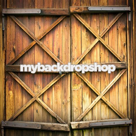 7ft X 7ft Barn Door Backdrop For Photos Rustic Barn Barn Doors Photography
