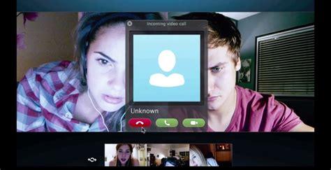 film horror webcam unfriended trailer this horror film takes place on skype