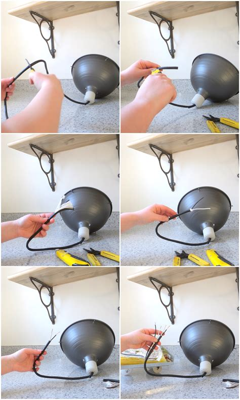 How To Hardwire A Light Fixture How To Turn A In Light Into A Ceiling Light It S Really Easy