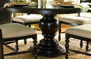 Paula Deen Dining Room Set Paula Deen Home Pedestal Table In Tobacco By Dining