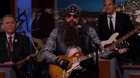 Mayer In Disguise by Mayer Wears Disguise Performs On Jimmy Kimmel Live