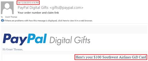 Paypal Digital Gift Card - psa order egift cards individually from paypal digital gifts
