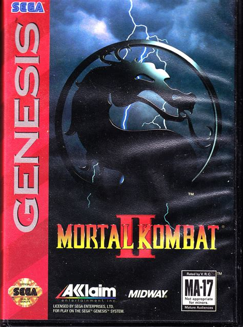 mortal kombat 2 sega genesis dreamcast 2 anyone gaming