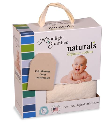 Moonlight Slumber Little Dreamer Organic Crib Mattress Moonlight Slumber Dreamer Crib Mattress