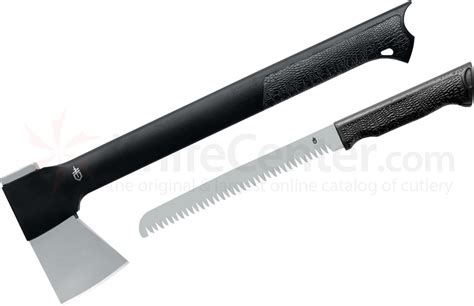 knife and axe gerber gator axe ii and saw combo knifecenter 22 41420