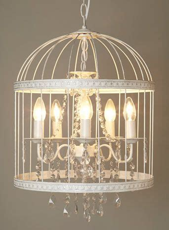 Birdcage Pendant Light Chandelier Bhs Vintage Robyn Cage Chandelier White Bridcage Chandelier Pendant Light The