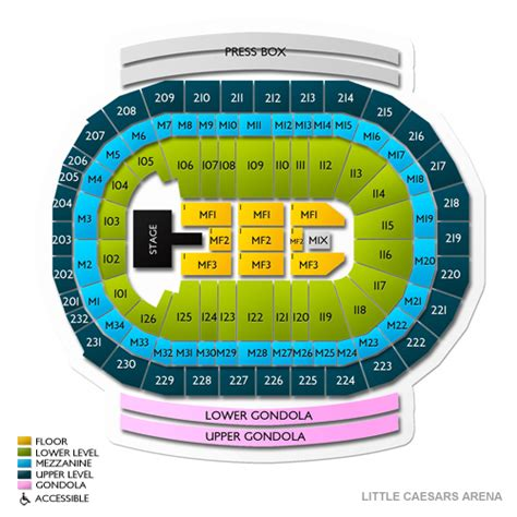 Prudential Center Floor Plan by Joe Louis Arena Seating Chart With Rows Louis Arena