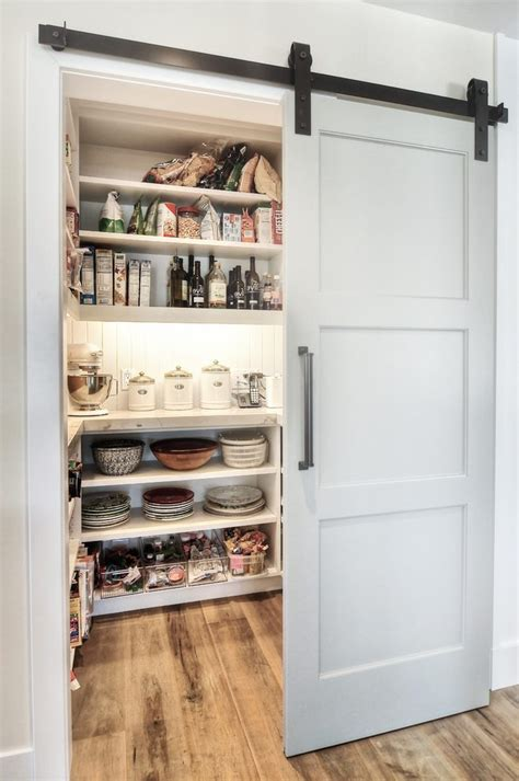 Sliding Pantry Door Hardware by Sliding Doors To Butlers Pantry Kitchen Transitional With