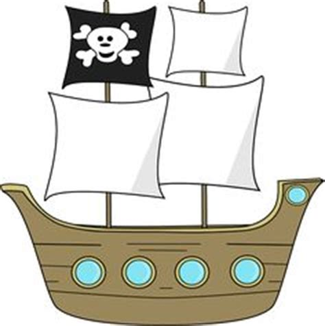 pirate ship cutouts printable pictures to pin on pinterest