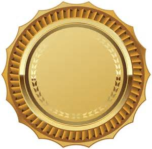gold seal with ribbon png clipart image gallery