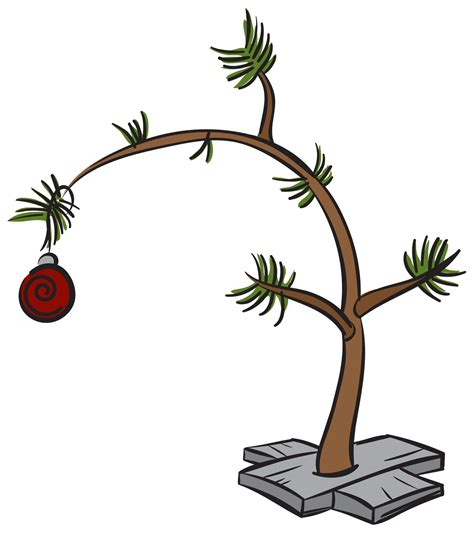 xmas stuff for gt charlie brown christmas tree clip art