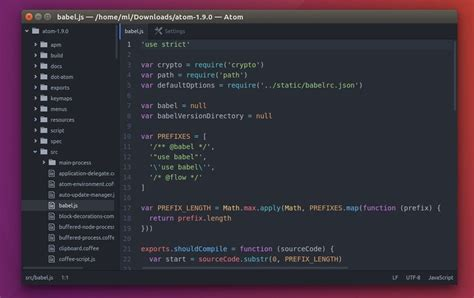 notepad themes atom how to install atom text editor in ubuntu 16 04 32 64bit