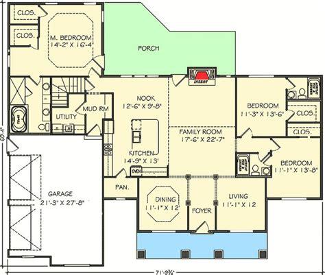 1700 sq ft house plan jasper 17 001 315 from planhouse home plans house plans floor 89 best house plans images on pinterest floor plans